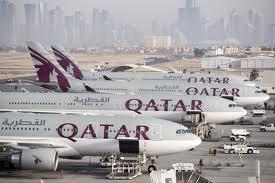 Doha International Airport, the primary hub of Qatar Airways