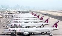 Qatar Airways' A380 fleet