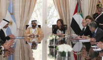 Sheikh Mohammed bin Rashid Al Maktoum in argentina