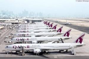 Qatar Airways's A380 fleet