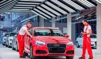 Audi A3 Sedan production