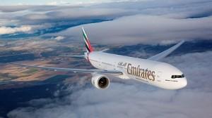 ''Emirates'' plane