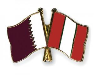 Qatar and Peru