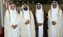 Qatar's delegation to the 15th GCC Joint Exhibition