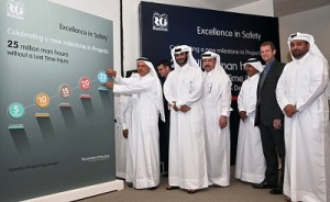 RasGas Celebrates 25 Million Man-hours Without a Lost Time Incident