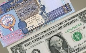 kuwaiti dinar and US dollar