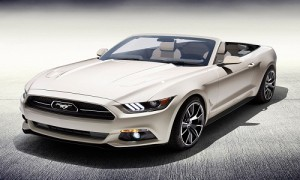 A 2015 Ford Mustang 50