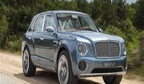 The new the Bentley SUV