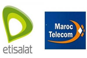 The Emirates Telecommunications Corporation ''Etisalat'' and Al Maghrib ''Maroc Telecom''