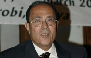 Dr. Mahmoud Abu-Zeid, the President of the Arab Water Council