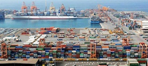 King Fahd Industrial Port in Yanbu