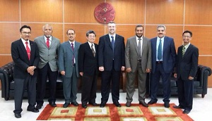 National Fund for Small and Medium Enterprises (SME) Development and the National Bureau for Academic Accreditation and Education Quality Assurance (NBAQ) delegations during their visit to Malaysia