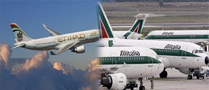 ''Etihad Airways'' and ''Alitalia''