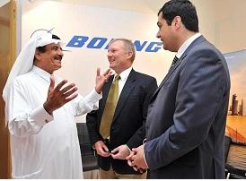 Boeing, Qatar aeronautical college career fair
