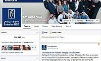 Emirates NBD Facebook page