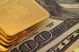 Gold's price against US dollar