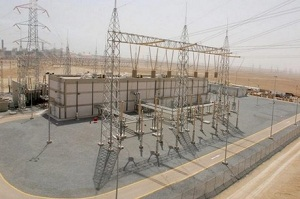 Al Zour substation