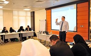 QNB's training workshop.