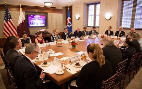 Qatar Business Council Holds Meetings in Washington