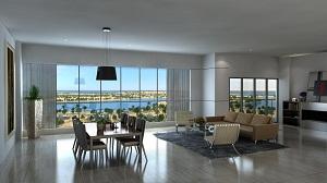 Sahara Tower 4 living room
