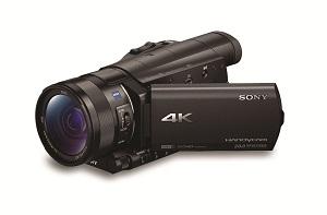 4K Handycam - FDR-AX100E