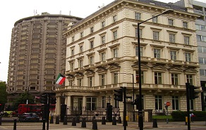 kuwait embassy, london