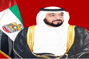 His Highness Sheikh Khalifa bin Zayed Al Nahyan, President of the United Arab Emirates