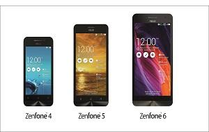 Asus, new smartphones ZenFone4, ZenFone5 and ZenFone6