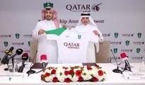 Qatar Airways Announces Partnership with Saudi Al-Ahli Football Club