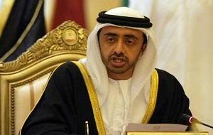 Sheikh Abdullah bin Zayed Al Nahyan, UAE's Foreign Minister,