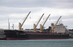"The Saba Ship ""Mega Star"""