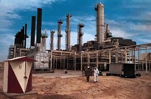 Qatar, petroleum refinery