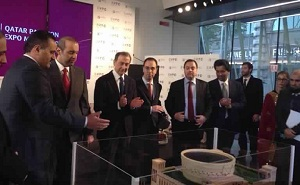 Economy Minister Inaugurates Final Design of Qatar Pavilion for Milan Expo 2015