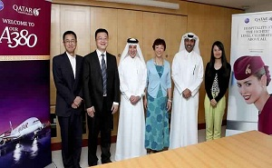 Qatar Airways Signs MoU with Capital of China's Sichuan Province