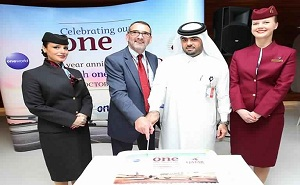Qatar Airways Celebrates Anniversary of its Membership in the 'ONEWORLD' Alliance