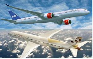 Etihad Airways, Scandinavian Airlines 'SAS'  announce codeshare plan