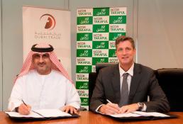 Mahmood Al Bastaki, Dubai Trade CEO and Mr. Andrew Greenwood, Acting CEO of Noor Takaful