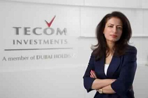 Dr Amina Al Rustamani, CEO of TECOM Investments