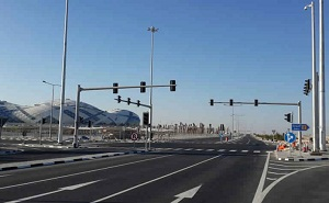 Ashghal Upgraded Roads, Utilities Surrounding Several Sports Halls ahead of Qatar 2015