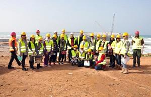 Kuwaiti delegation visits KFAED-funded Safi Port in Morocco