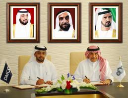 Ahmed bin Sulayem, DMCC, Executive Chairman and Abdulla S. Al Turifi, SCA's Chief Executive Officer.