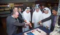 Warwick Dubai_owners cutting the cake