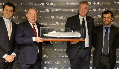 Etihad Airways - MSC Cruises Partnership - PHOTO