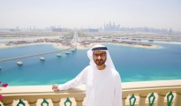 Omar Khoory overlooking The Pointe at Palm Jumeirah 1