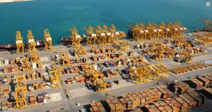Jebel Ali Port, Dubai, operated by DP World