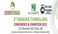 3rd Arabian Tunnelling Conference and Exhibition 2015