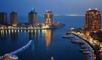 Dusk_at_the_Pearl_Qatar_(6279825109)