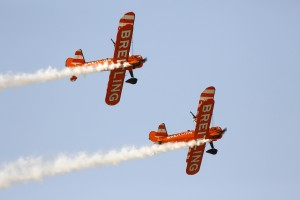 Image 2 - The Breitling Wingwalkers at the Dubai Airshow 2015